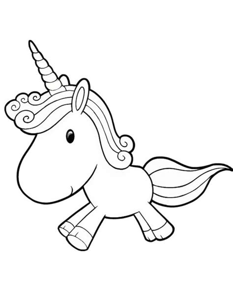 black and white coloring pages of unicorns printable cartoon unicorn coloring page coloringpagebook com