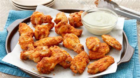 baked taco chicken wings recipe bettycrockercom