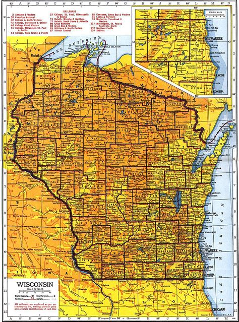 wisconsin map wisconsin maps wisconsin digital map library table of