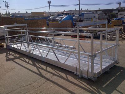 used swing stage for sale suspended access equipment northern strands saskatoon