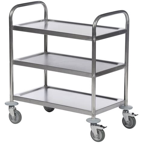 etagere edelstahl economy stainless steel trolleys with fast free uk delivery
