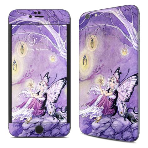 apple iphone 6 plus skin chasing butterflies by meredith