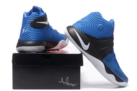 Nike Kyrie Irving 2 White Blue nike kyrie irving 2 blue black white shoes