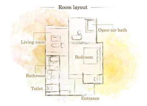 layout of guest room ppt guest room and facilities japanese style double room with