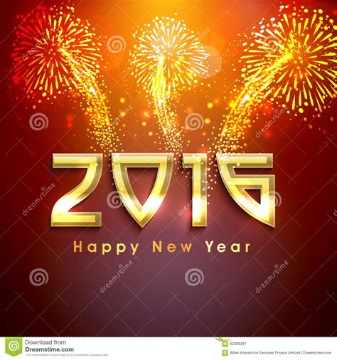 new year 2016 backdrop design greeting card for new year 2016 celebration stock