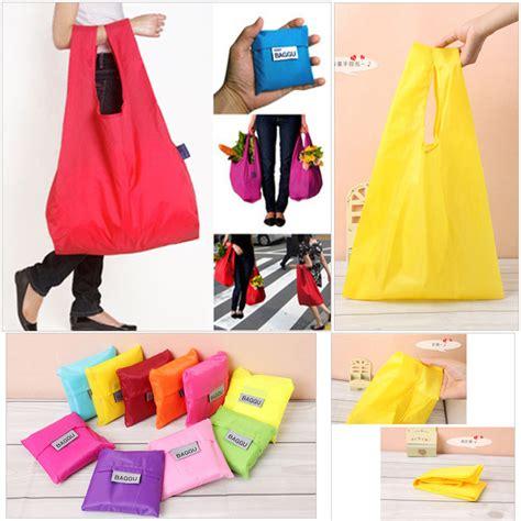 Tas Lipat Ring Tas Belanja Tote Bag Lipat 271017 jual baggu bag tas lipat multifungsi shopping bag nona