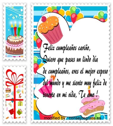 imagenes con mensajes de cumpleaños para mi esposo frases bonitas de cumplea 241 os para mi esposo saludos de