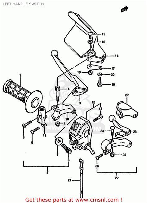 Suzuki Dr350 Parts Suzuki Dr350 1991 Sm Parts Lists Suzuki Cars