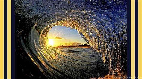 wallpaper tidal wave nature sea spectacular