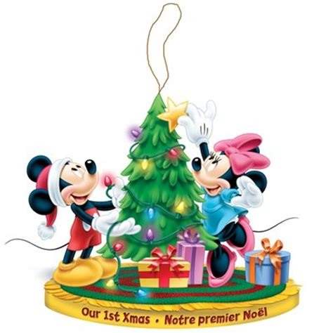 Disney Christmas Sweepstakes - disney christmas classic mickey and minnie our 1st xmas ornament lowe s canada