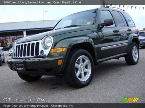 2007 Jeep Liberty Limited Jeep Green Metallic 2007 Jeep Liberty Limited 4x4