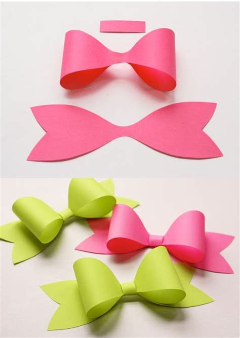 paper bows bows and paper on