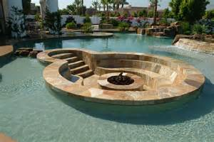 pool pit 11 amazing designs of fire pits built inside pools