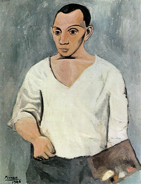 picasso paintings self portrait history news picasso and the avant garde in