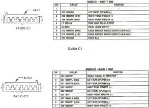 factory stereo wire diagram 2001 jeep grand