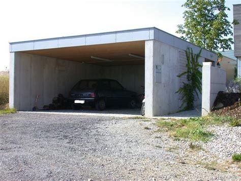 beton carport preis carport aus sichtbeton mit flachdach baumeister kickinger