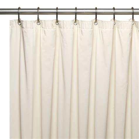extra long and wide shower curtains extra long 5 gauge vinyl shower curtain liner with metal