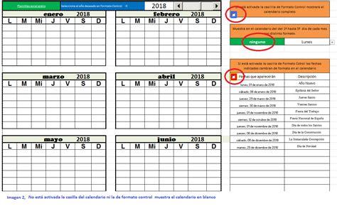En El Calendario Plantilla De Calendario Anual De Cualquier A 241 O Para