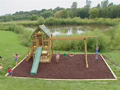Playground Ideas For Backyard Backyard Playground Diy 187 Woodworktips