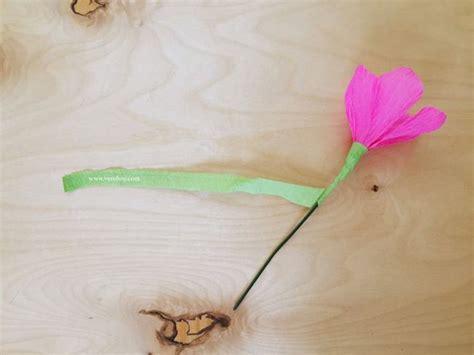 como hacer flores con papel crepe paso a paso tutorial flores de papel crep 233 bricolaje10 com