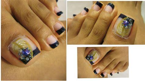 imagenes uñas decoradas delos pies no se necesita mucha t 233 cnica u 241 as decoradas de los pies