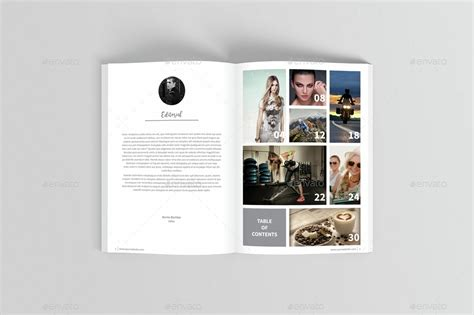 photography magazine template by boriesbechker graphicriver