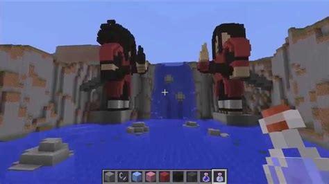 minecraft preview naruto la vallee de la fin