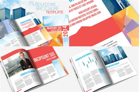 Museum Annual Report Free Templates Annual Report Brochure Template By Templatepickup On