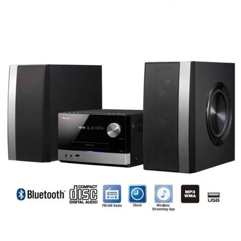 pioneer x pioneer x pm32 power micro system with fm tuner cd usb