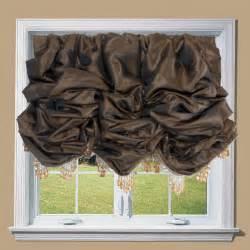 Balloon Curtains And Shades Faux Silk Balloon Shades Drea Custom Designs