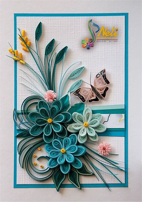 card with quilling 17 best ideas about neli quilling on quilling