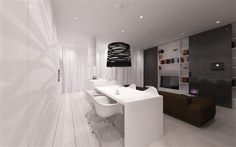 minimalist studio apartment minimalist apartment in poland inspired by scandinavian