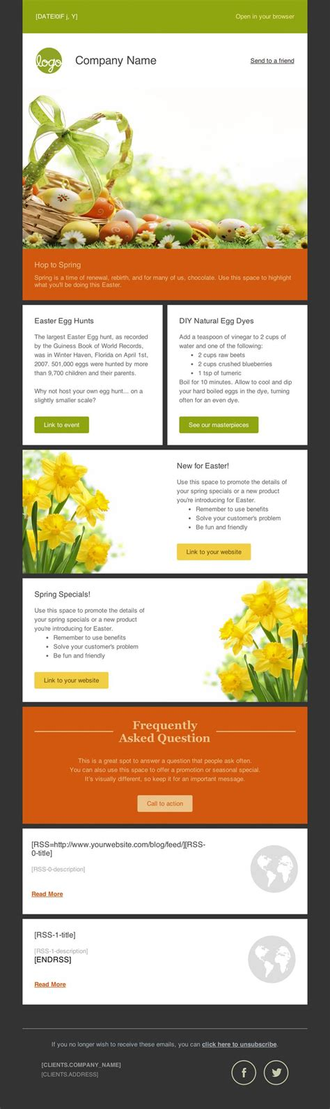 16 Best Mailchimp Newsletter Layout Inspiration Images On Pinterest Email Newsletters Email Newsletter Templates Email Free