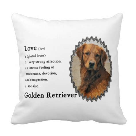 personalized golden retriever gifts is golden retriever gifts throw pillows zazzle