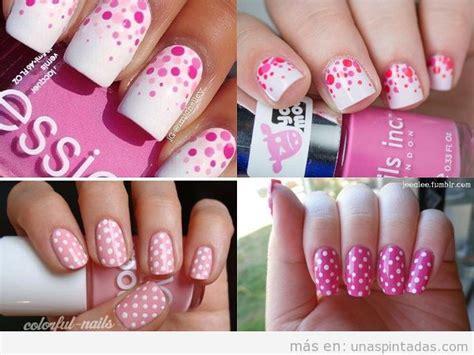 fotos de uñas decoradas youtube u 241 as decoradas con lunares m 225 s de 35 dise 241 os sencillos y