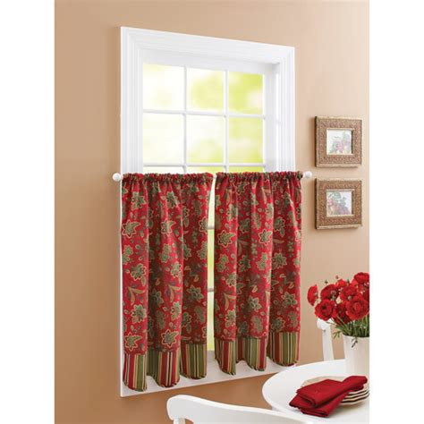 red kitchen curtains red kitchen curtains fabulous qay to make your kitchen vibrant