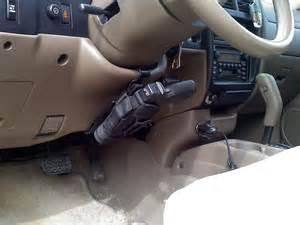 Steering Wheel Car Gun Holster Vehicle Mount Toyota