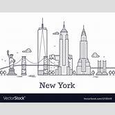 new-york-skyline-silhouette-outline