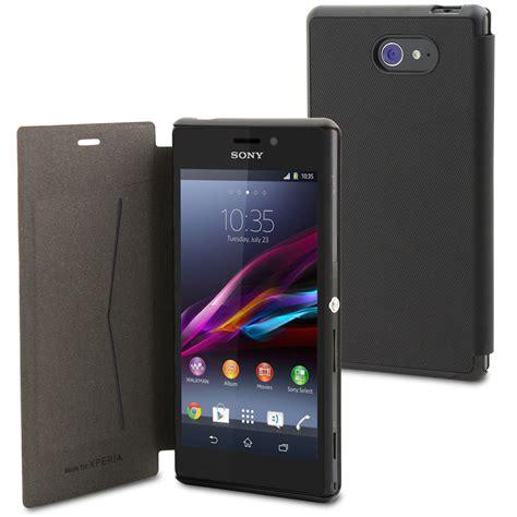 Hp Sony Xperia M2 Ultra made for xperia etui ultra slim folio noir pour xperia m2