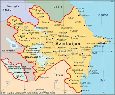 political map of azerbaijan nations online project azerbaijan map asia maps map pictures