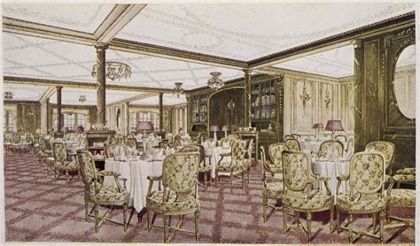Titanic Dining Room what the most expensive ticket on the titanic bought you