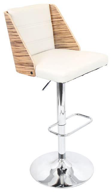 Barstool Zebra Walnut galanti barstool modern bar stools and counter stools