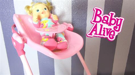 Baby Alive High Chair Set baby alive 3 in 1 doll play set with tickles n cuddles feeding car seat high chair swing