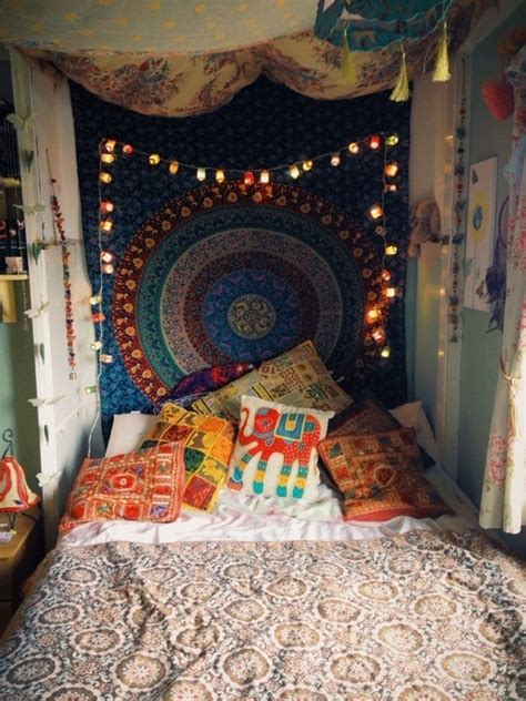 hippie bedroom decor bedroom ideas in boho chic style room decorating ideas