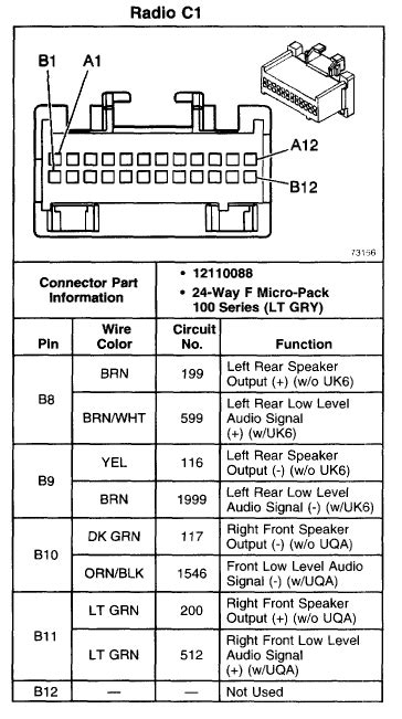gmc envoy do you wiring diagram for a bose system from