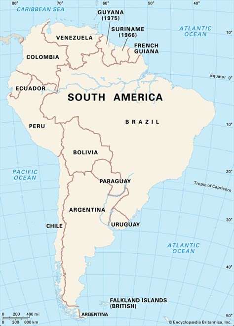 south america map with names homework helps independence