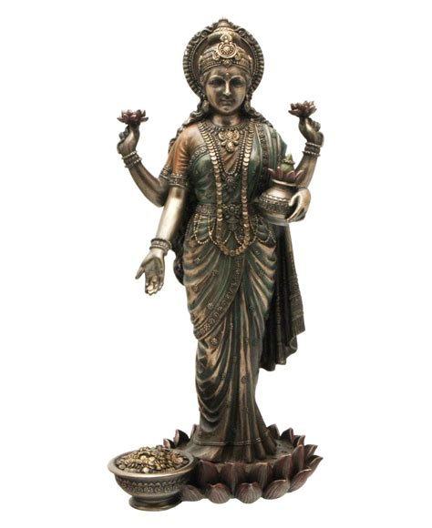 god statues my indian culture devi lakshmi the goddess of wealth prosperity and