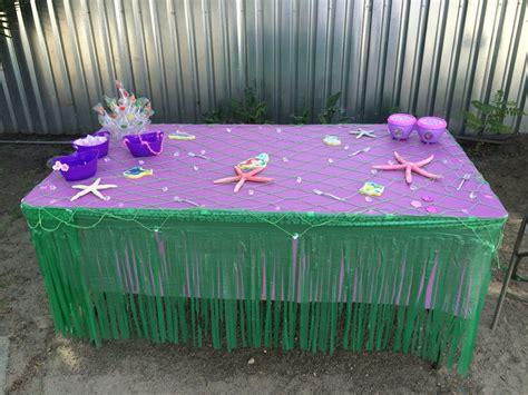 table decorations mermaid mermaid ideas table decorations mermaid