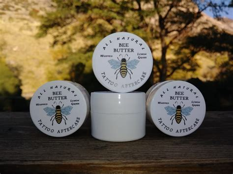 tattoo aftercare plastic 188 oz plastic jar tattoo aftercare bee butter packages of 4