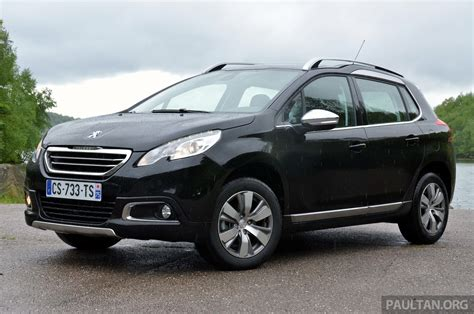 peugeot crossover 2008 driven peugeot 2008 crossover in alsace image 220409
